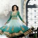 Actress Sushmita Sen new pictures for Salwar kameez - 335 x 425