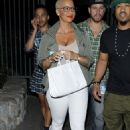 Amber Rose attends Beyonce and Jay Z's 'On The Run' Concert at the Rose Bowl in Pasadena, California - August 3, 2014 - 454 x 652