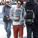 Drake Bell was spotted out for lunch yesterday, May 23 in Vancouver, Canada!