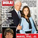 Mario Vargas Llosa - Hola! Magazine Cover [Spain] (10 February 2016)