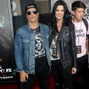 Slash and Meegan Hodges during Halloween Horror Nights Opening on 2016-09-16