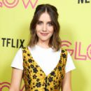 Alison Brie – Netflix 'Glow' Roller Skating Event in Los Angeles