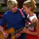 Dianna Agron and Chord Overstreet