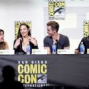 The Director Patty Jenkins, Gal Gadot, Chris Pine and Connie Nielsen - July 23, 2016- Comic-Con International 2016 - Warner Bros Presentation