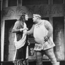 John Carradine and Zero Mostel From The 1962 Broadway Musical A FUNNY THING HAPPPENED ON THE WAY TO THE FORUM - 448 x 550
