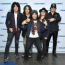 Kiss attends SiriusXM's Town Hall with KISS on October 29, 2018 in New York City - 454 x 397