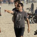 Stephen Moyer Spending The Day On Venice Beach