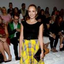 Jessica Alba Checks Out Ralph Lauren Spring 2013 RTW