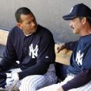 Alex Rodriguez With Coach Ron Guidry