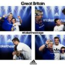David Beckham surprises Team GB fans in Olympic photo booth