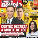 Herson Capri, Gabriel Braga Nunes, Insensato Coração - Minha Novela Magazine Cover [Brazil] (10 June 2011)