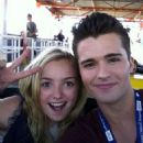 Peyton List and Spencer Boldman