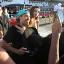 Angela Sarafyan – Signs autographs and greets fans in Hollywood - 454 x 514