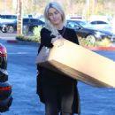 Julianne Hough at FedEx in LA - 454 x 682
