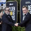 Joaquin Phoenix and Taron Egerton At 77th Golden Globe Awards (2020) - 454 x 303