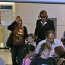 Richie Sambora and daughter Ava arrive at Los Angeles International Airport - 454 x 325