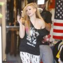 Avril Lavigne's Popkiller Clothing Shopping Spree