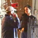 Selena Gomez and The Weeknd were spotted at Giorgio Baldi in Santa Monica Tuesday, January 10, 2017 - 454 x 681
