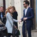 Jessica Chastain and Gian Luca Passi De Preposulo