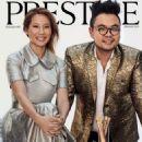 Lucy Liu & Ryan Su – Prestige Singapore Magazine (January 2019) - 454 x 524