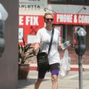 Kaley Cuoco – Heads to Sharky's Woodfired Mexican Grill in LA