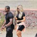 Khloe Kardashian – Leaves a studio in Los Angeles
