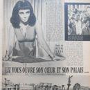 Elizabeth Taylor - Cinemonde Magazine Pictorial [France] (15 December 1962) - 454 x 591