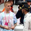 Justin Bieber at the Monaco Formula One Grand Prix at Circuit de Monaco on May 29, 2016 in Monte-Carlo, Monaco