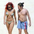Rita Ora in Bikini in Tuscany