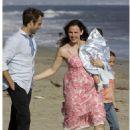 Jennifer Garner & Michael Vartan On The Set Of Alias