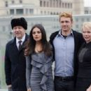 "Mila Kunis: showed up at a photocall for ""Oz the Great and Powerful"" in Moscow"