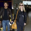 Jessica Simpson - Arriving At Heathrow Airport In London, 2009-10-10