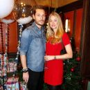 Seb Bishop and Heidi Bishop attend the brunch launch of The Ivy Market Grill in partnership with the Kids Company at The Ivy Market Grill on November 23, 2014 in London, England