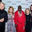 Matt Sorum, Joely Fisher, Daniel Leturesh, Donna Gadomski and Glenn Hughes attend IFAW Saving the Elephants of Amboseli at Hotel Palomar on February 17, 2015 in Los Angeles, California. - 454 x 303