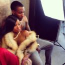 Lashontae Heckard and Brandon Jennings