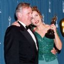 Anthony Hopkins and Emma Thompson At The 65th Annual Academy Awards (1993) - 392 x 392