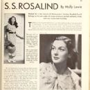 Rosalind Russell - Picture Play Magazine Pictorial [United States] (September 1935) - 454 x 627