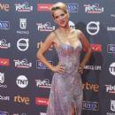 Luisana Lopilato- Platino Awards 2017- Red Carpet - 399 x 600