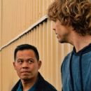 Ernie Reyes Jr. and Eric Christian Olsen in NCIS: Los Angeles