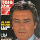 Alain Delon - Télé Star Magazine Cover [France] (8 September 1990)