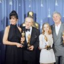 Mercedes Ruehl, Anthony Hopkins, Jodie Foster and Jack Palance -  The 64th Annual Academy Awards (1992) - Press Room