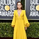 Zoey Deutch wears Fendi Dress : 77th Annual Golden Globe Awards