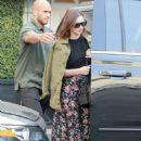 Miranda Kerr Leaving Epione Salon in Los Angeles - 454 x 656