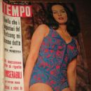 Agata Flori - Tempo Magazine Cover [Italy] (5 May 1965)