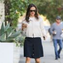 Jennifer Garner in Black Skirt – Out and about in Los Angeles