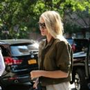 Rosie Huntington-Whiteley in New York