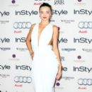 Miranda Kerr strikes a pose in Carla Zampatti at the 2012 Women of Style Awards held at Carriage Works on Tuesday (May 15) in Sydney, Australia