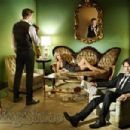 Alexander Skarsgard, Anna Paquin and Stephen Moyer in The Rolling Stone Magazine (Sep./2010).
