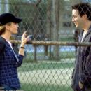 Diane Lane and Keanu Reeves in Paramount's Hardball - 2001