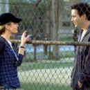 Diane Lane and Keanu Reeves in Paramount's Hardball - 2001
